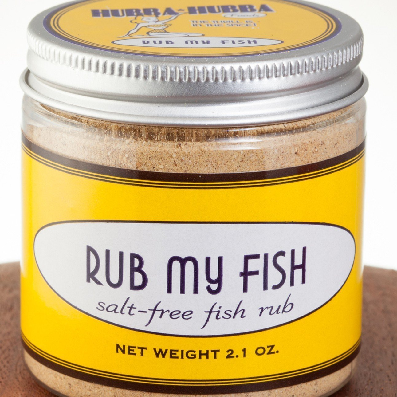 hubba hubba foods rub my fish rub jar