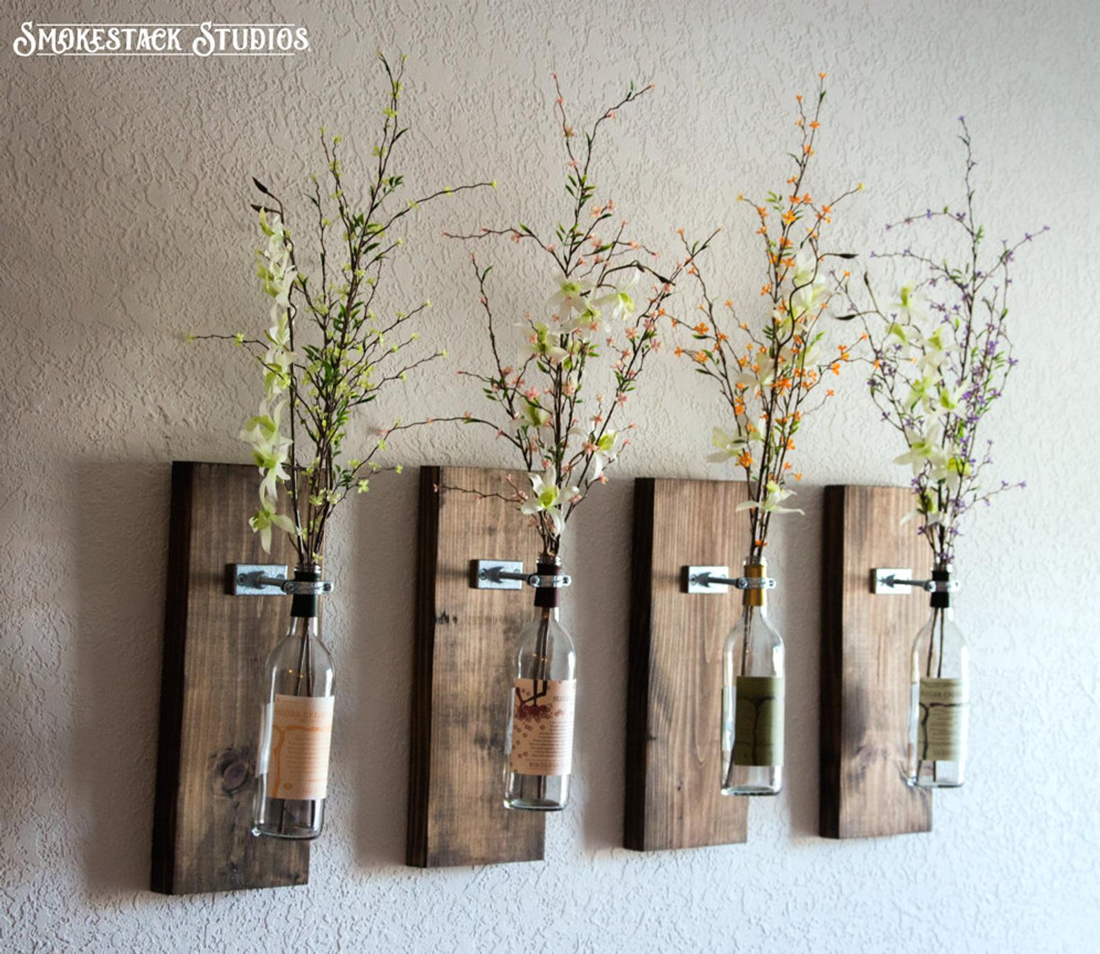 Wall Wine Bottle vases