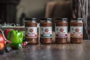 rustic tomato four jar variety pack